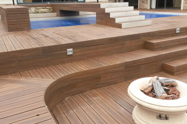 Timber Construction Composite Decking 1