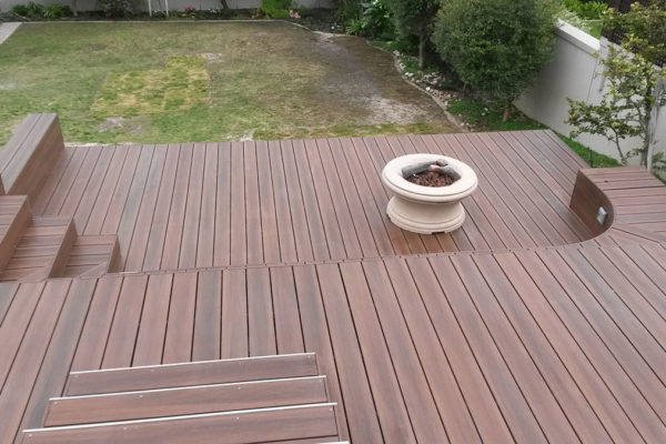 Timber Construction Composite Decking 11