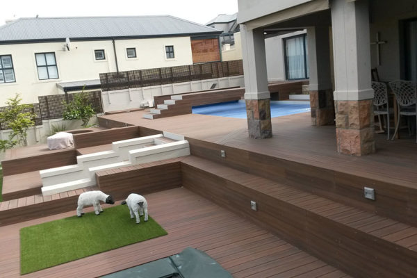 Timber Construction Composite Decking 14