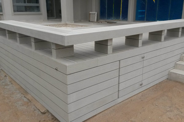 Timber Construction Composite Decking 17