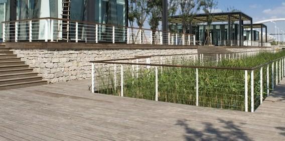 Timber Construction Bamboo Decking 6