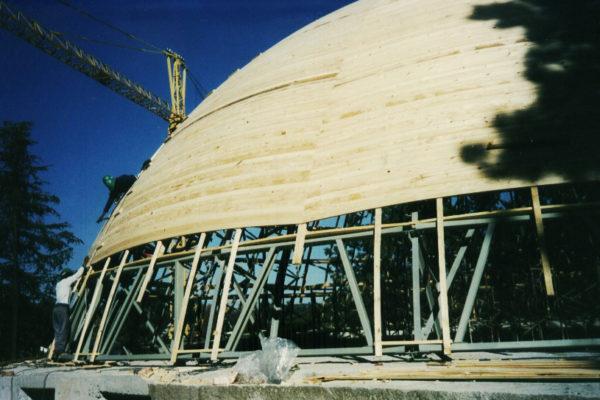 Timber Construction Greatpark Synagogue 6