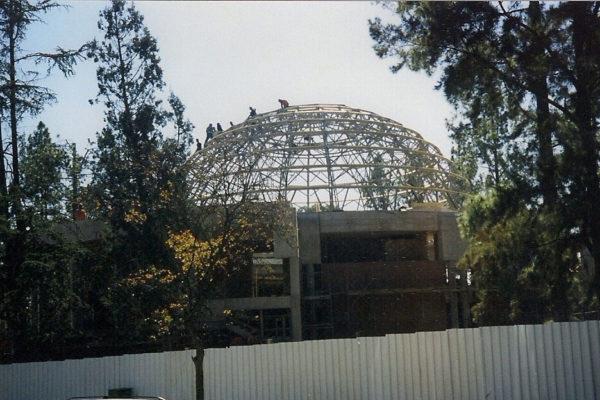 Timber Construction Greatpark Synagogue 7