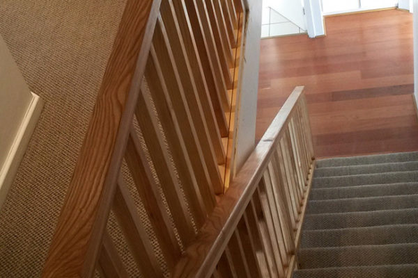 Timber Construction Indoor Stairs and Balustrade 2