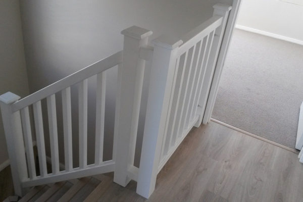 Timber Construction Indoor Stairs and Balustrade 4