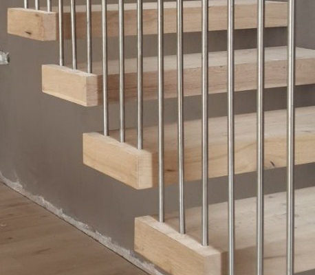 Timber Construction Indoor Stairs and Balustrade 9