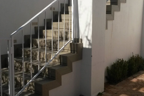 Timber Construction Outdoor Stairs and Balustrade 10