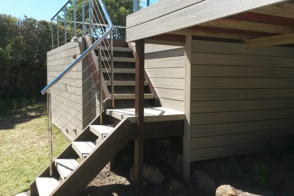 Timber Construction Outdoor Stairs and Balustrade 11
