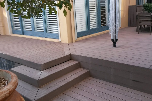 Timber Construction Outdoor Stairs and Balustrade 3