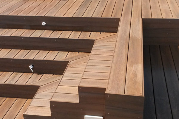 Timber Construction Outdoor Stairs and Balustrade 5