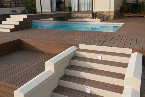 Timber Construction Outdoor Stairs and Balustrade 8