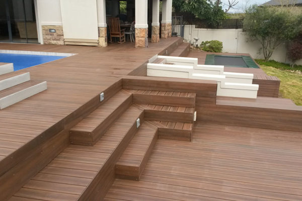Timber Construction Outdoor Stairs and Balustrade 9