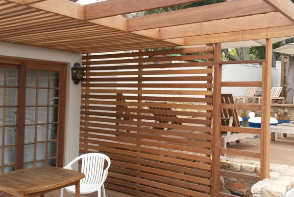 Timber Construction Pergola 1