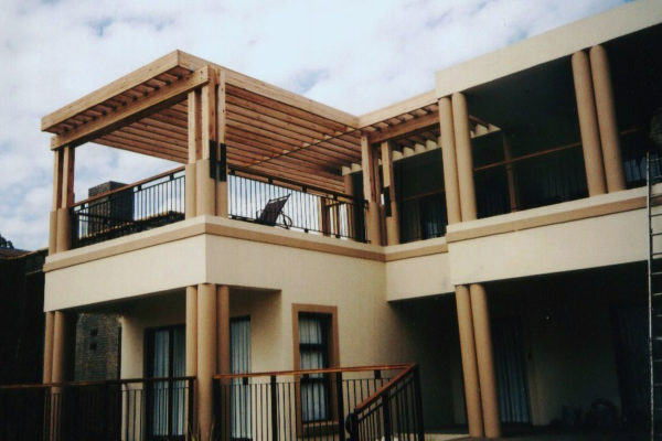 Timber Construction Pergola 14