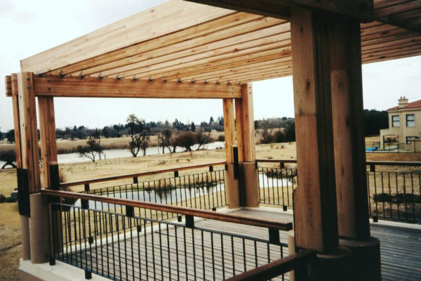 Timber Construction Pergola 15