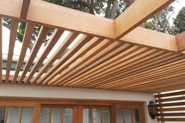 Timber Construction Pergola 2
