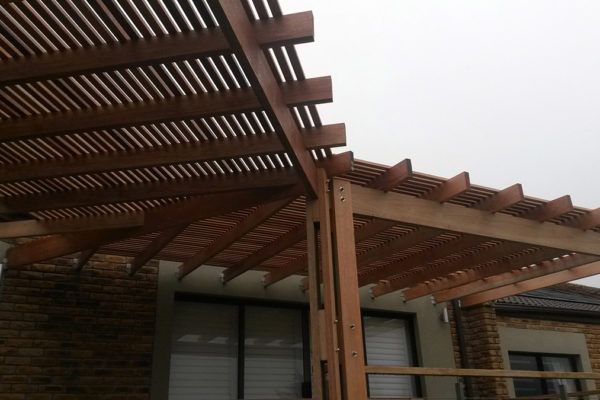 Timber Construction Pergola 3