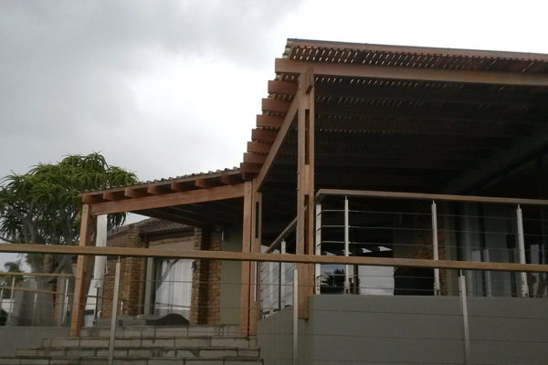 Timber Construction Pergola 4