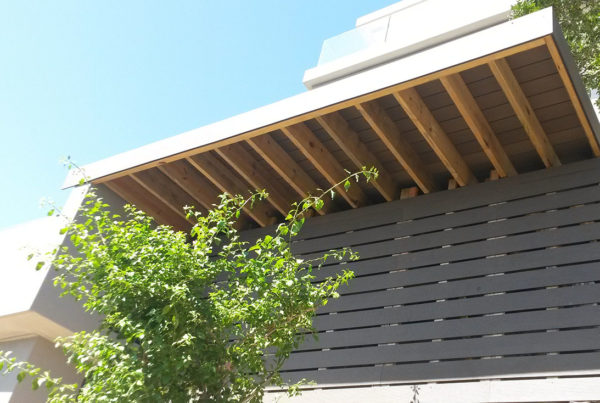 Timber Construction Screen Walls 1