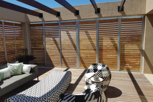 Timber Construction Screen Walls 10
