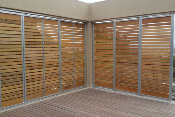 Timber Construction Screen Walls 12