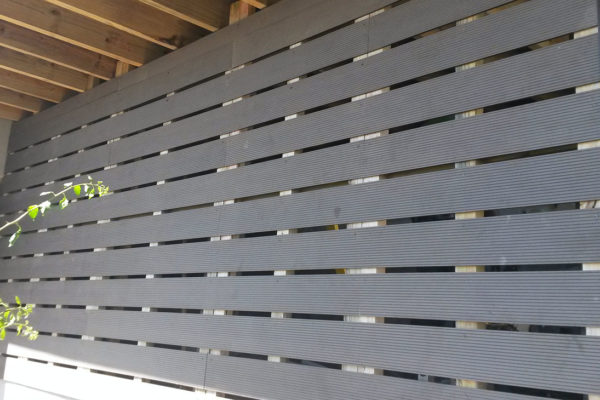 Timber Construction Screen Walls 2