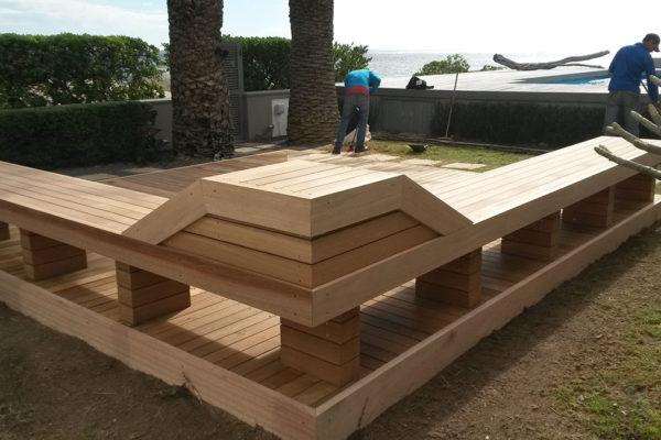 Timber Construction Timber Decking 3
