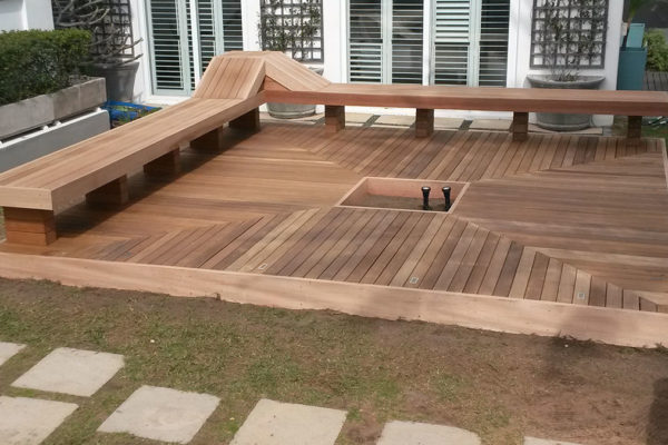 Timber Construction Timber Decking 4