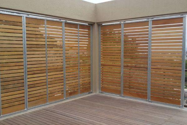screen walls 12